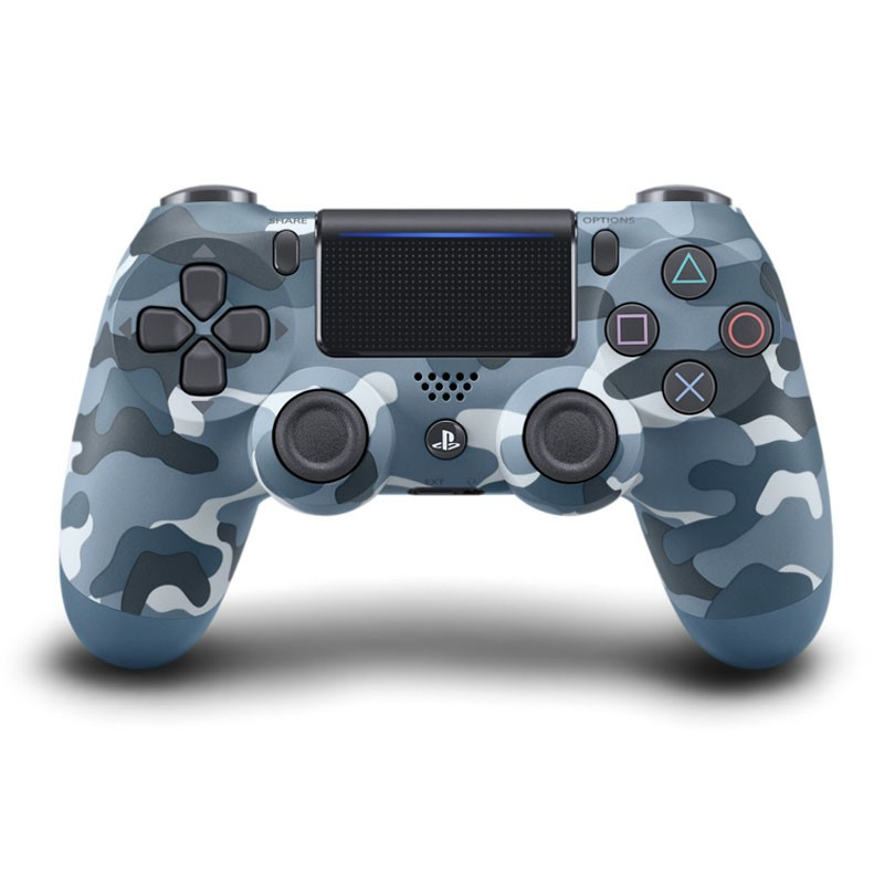 PS4 Sony Dual Shock 4 Blue Camouflage V2