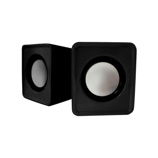 Altavoces 2.0 Approx USB Mini Speaker 5W Negro