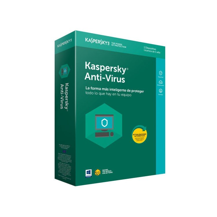 Kaspersky Lab Anti-Virus 2018 1 Dispositivo