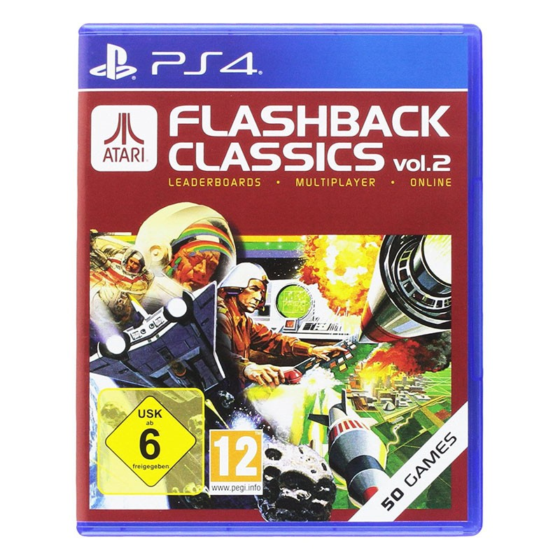 PS4 Juego Atari Flashback Classics Volumen 2