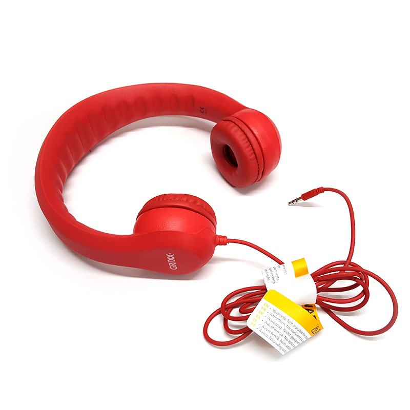 Auriculares Infantiles Grixx Kids Headphone Rosa