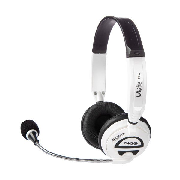 Auriculares con Microfono NGS MSX6 Pro White
