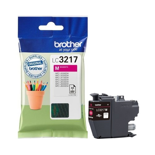 Brother LC3217M Cartucho de Tinta Magenta Original