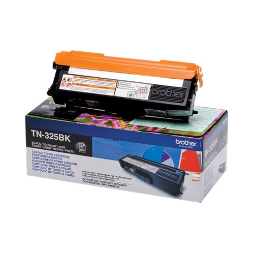 Brother TN325BK (TN325BK) Toner Compatible Negro