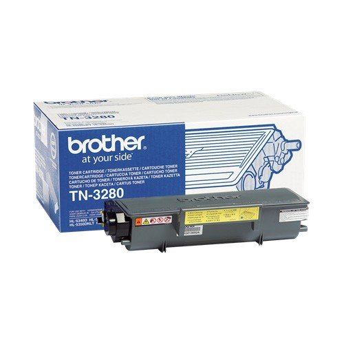 Brother TN-3280 Toner Original Negro
