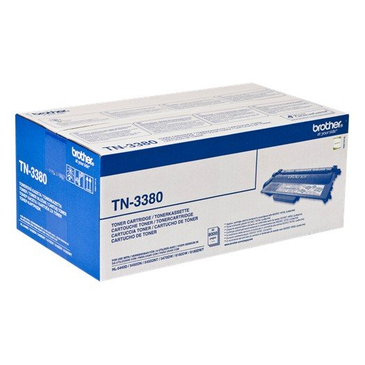 Brother TN-3380 Toner Original Negro