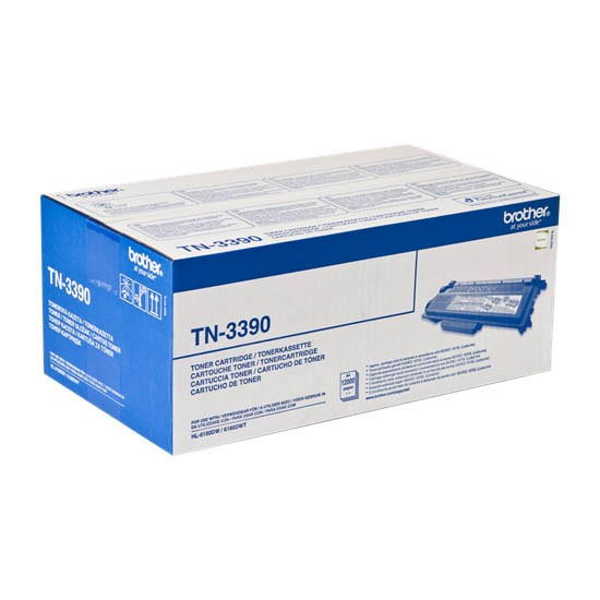 Brother TN-3390 Toner Original Negro