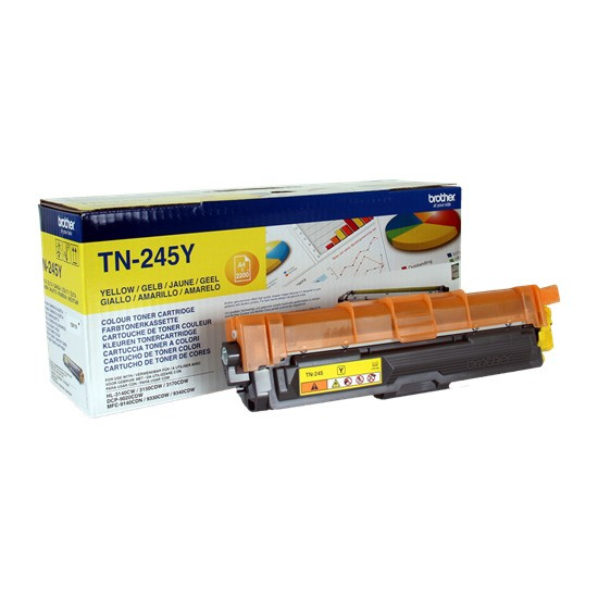 Brother TN-245Y Toner Original Amarillo