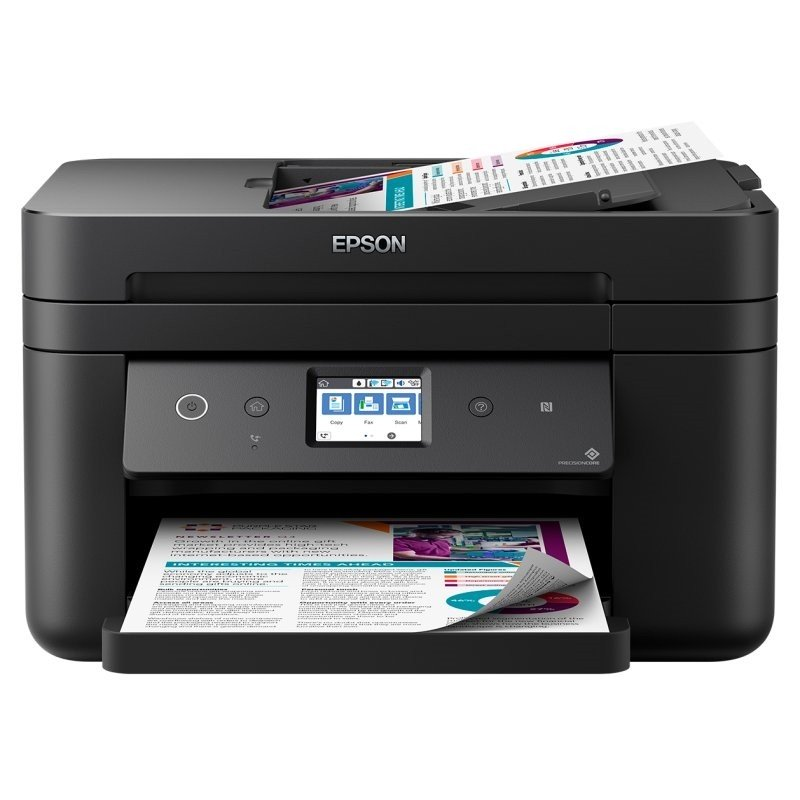 Impresora Multifunción Epson WorkForce WF-2860DWF Wifi Fax