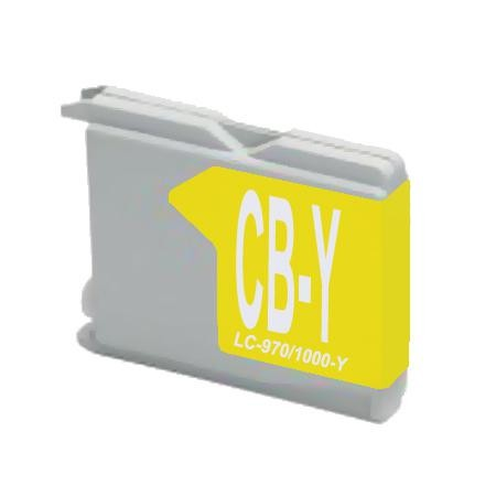 LC970 - LC1000Y Compatible Ink Cartridge (Yellow)
