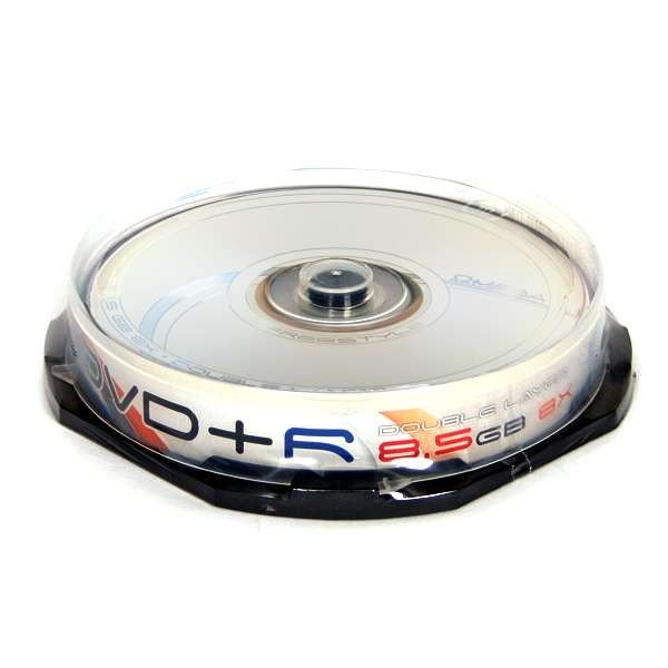 DVD+R Doble Capa 8x Freestyle Tarrina 10 uds