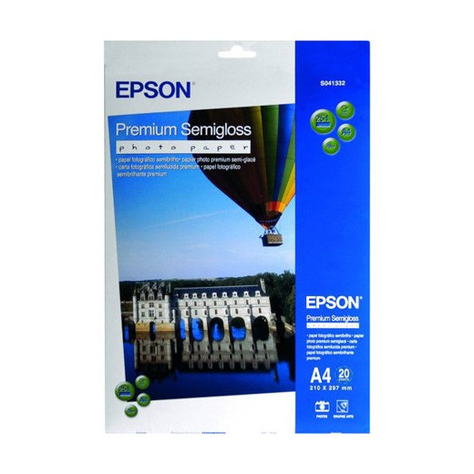 Epson Papel Premium Semigloss Photo Paper 251 G/m2 20 uds A4