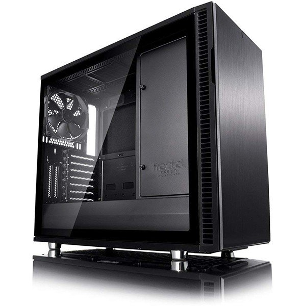 Caja PC ATX Fractal Define R6 USB-C Blackout con Ventana