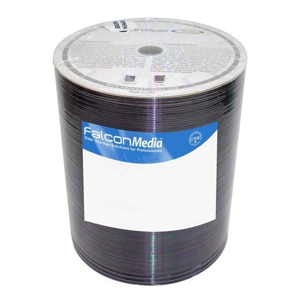 CD-R 52x FF Printable FalconMedia Pro Basic Diamond Bobina 100 uds