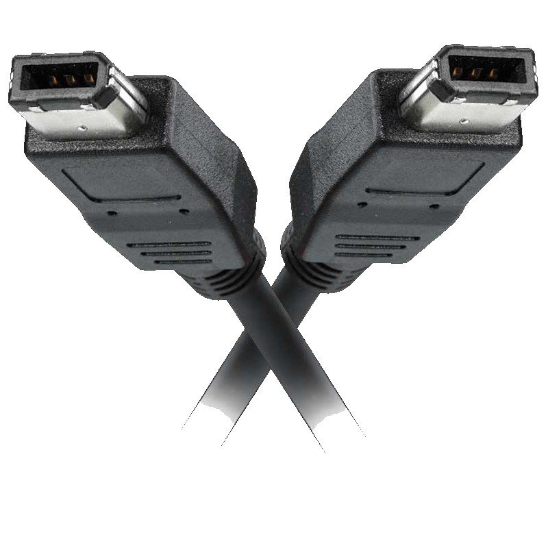 MediaRange - Cable FireWire 400 1.8 mts 6pin a 6pin