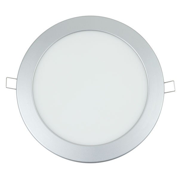 Foco Downlight Led SLIM Silver 20W 3000K 220v 240x32mm Serie E6