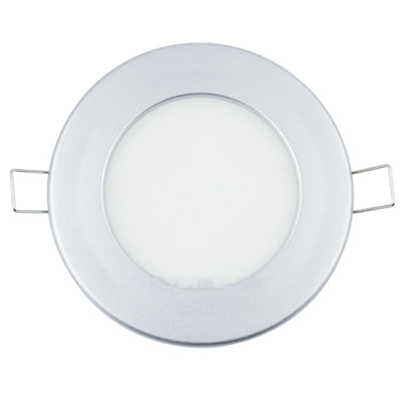 Foco Downlight Led SLIM Silver 9W 4000K 220v 115x32mm Serie E6