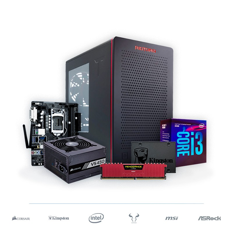 PC SMART WiFi-ITX Ryzen 3 3200G Radeon Vega 8 8GB DDR4 240GB SSD v1.2
