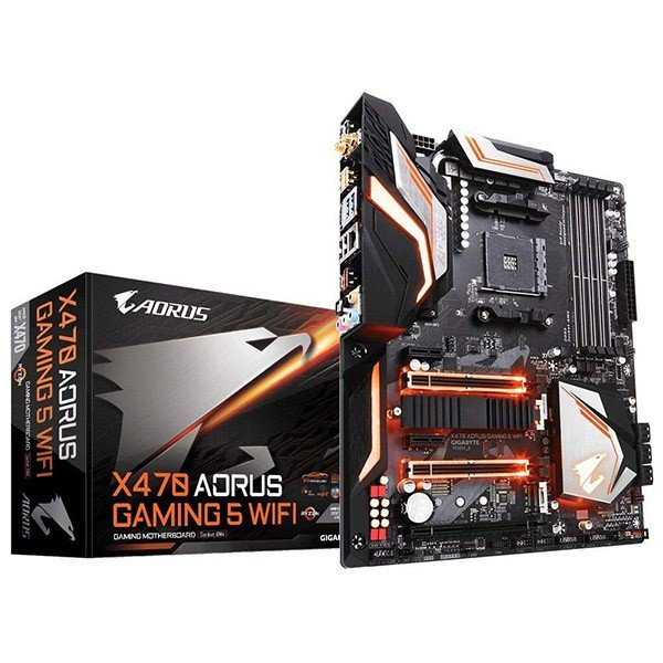 Placa Base Aorus X470 Gaming 5 WIFI ATX Socket AM4