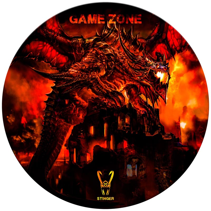 Alfombra de Suelo Gaming Woxter Stinger FloorPad Red