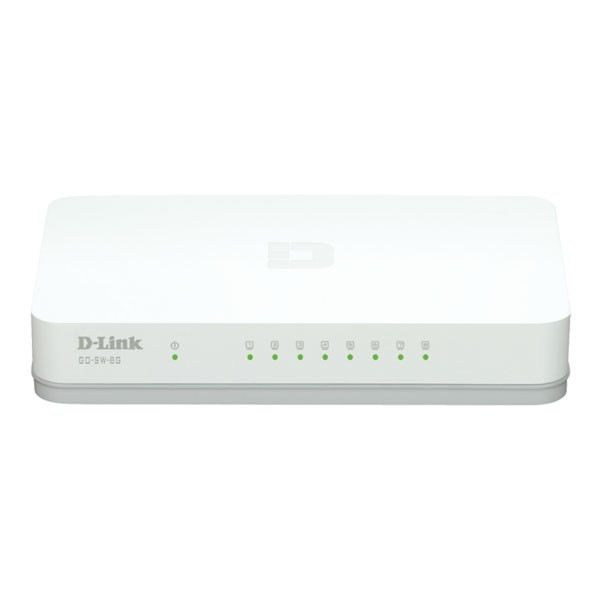 D-Link GO-SW-8G Switch 8 Puertos Gigabit