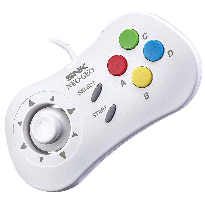 Gamepad SNK Neo Geo Mini Blanco