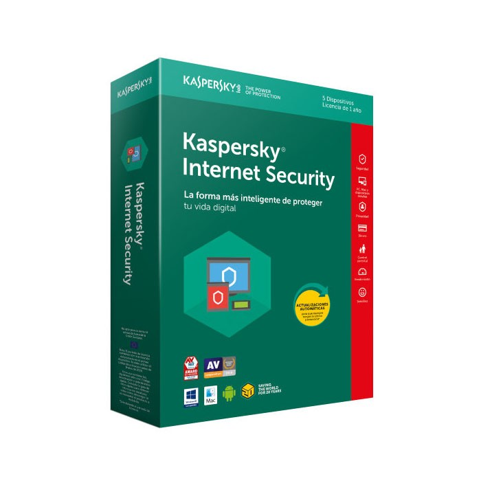 Kaspersky Lab Internet Security 2018 10 Dispositivos