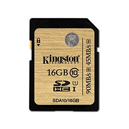 Kingston Ultimate SDA10/16GB Tarjeta SDHC 16GB Clase 10/UHS-I
