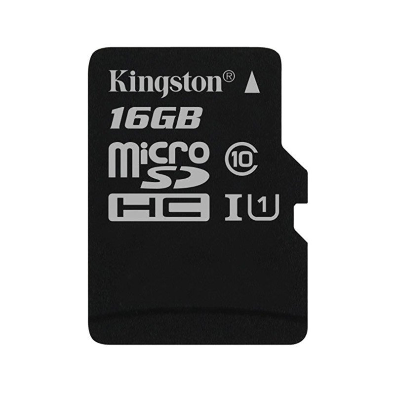 Tarjeta MicroSDHC 16GB Clase 10 UHS-I Kingston Canvas Select 80 MB/s
