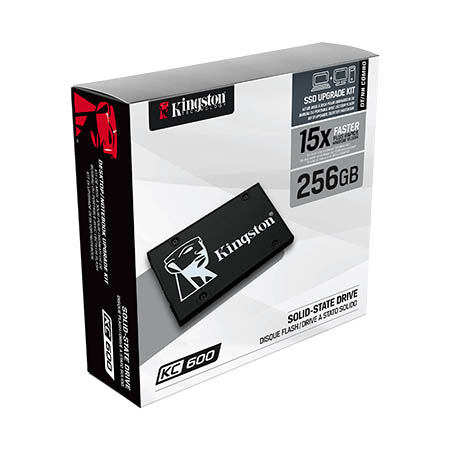 Disco Duro SSD 512GB Kingston KC600 (Kit de Actualización)