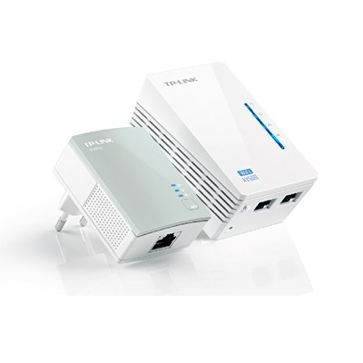 Kit para Red PLC TP-Link TL-WPA4220KIT 300Mbps