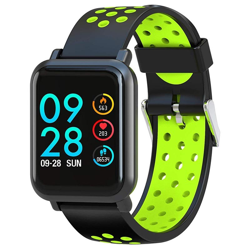 SmartWatch Leotec MultiSport Helse Color Verde