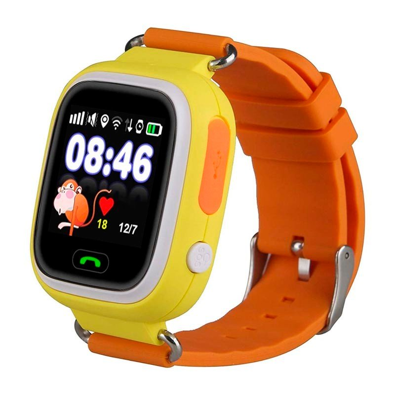 SmartWatch Infantil Leotec Kids Way Naranja