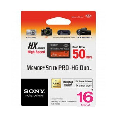 Sony Memory Stick PRO-HG Duo HX 16GB