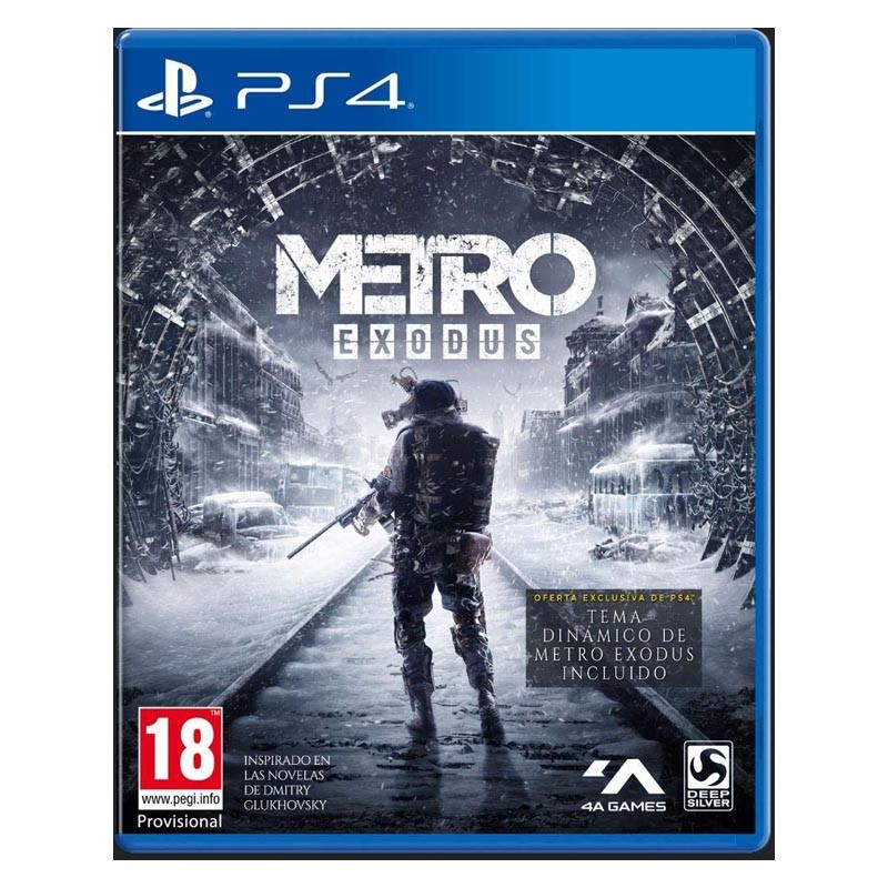 PS4 Juego Metro Exodus Day One Edition