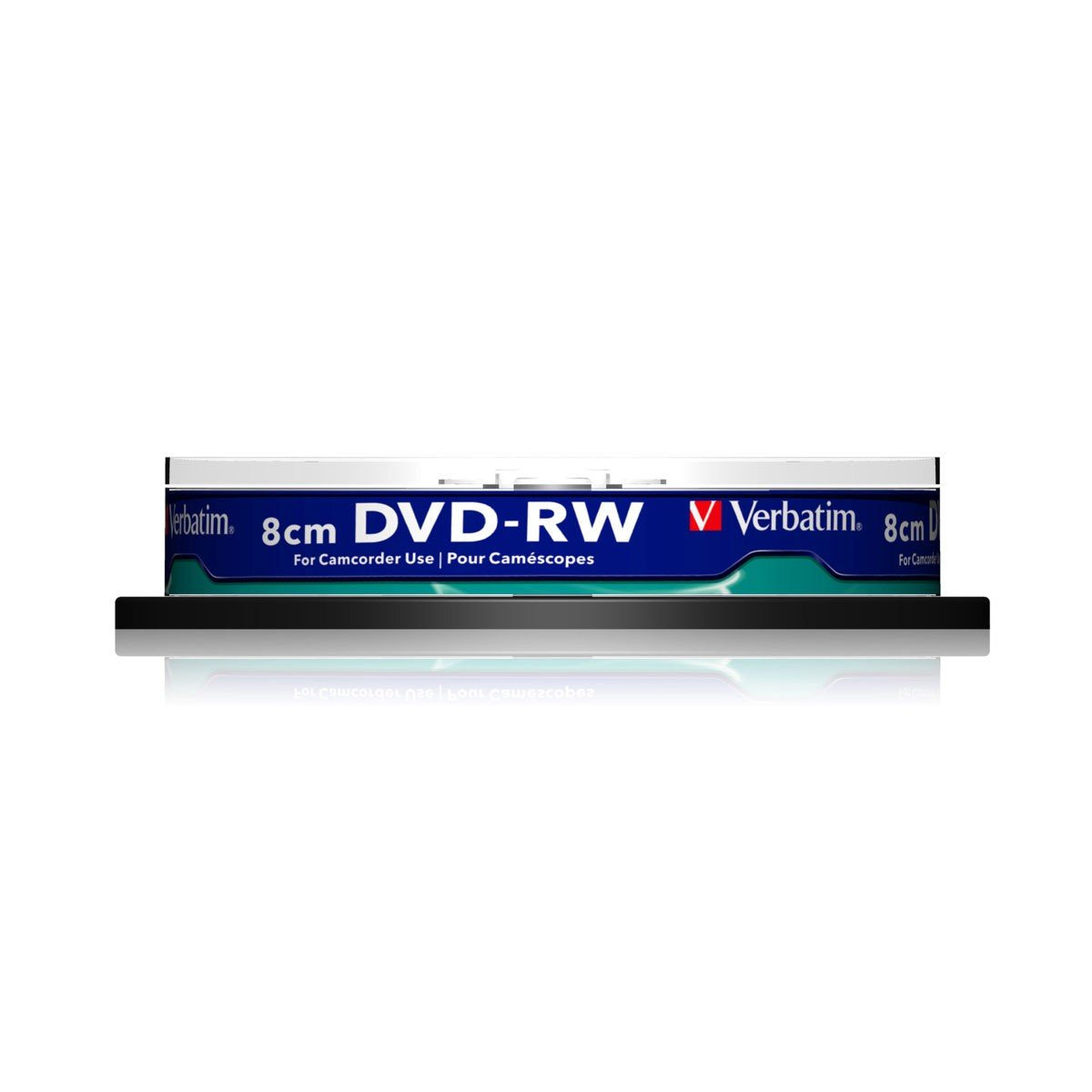 Mini DVD-RW Verbatim 2x FF Photo InkJet Printable Tarrina 10 uds