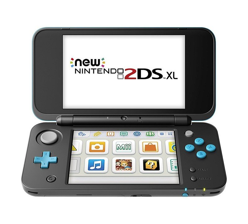New Nintendo 2DS XL Negro / Turquesa