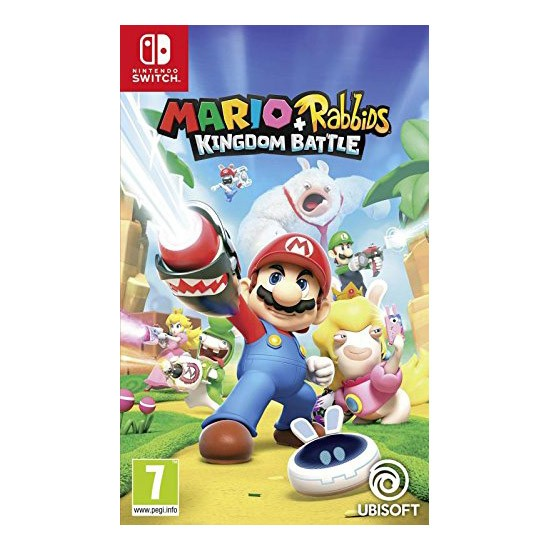 Nintendo Switch Juego Mario + Rabbids Kingdom Battle