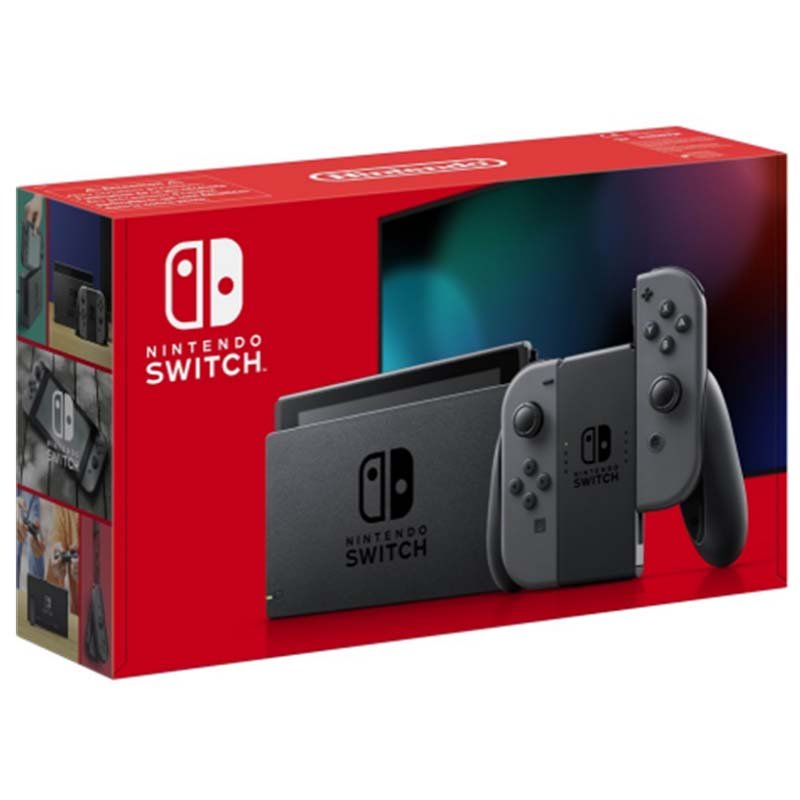 Nintendo Switch Gris - Modelo 2019