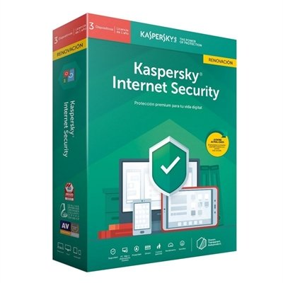 Kaspersky Internet Security 2020 3 Dispositivos (Renovación)