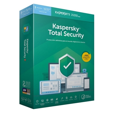 Kaspersky Total Security 2020 3 Dispositivos