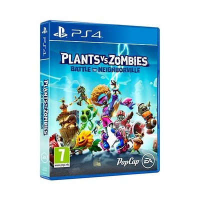 PS4 Juego Plants vs Zombies - Battle For Neighborville