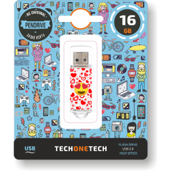 Pendrive 16GB Tech1Tech TEC4502-16 Eart-Eyes