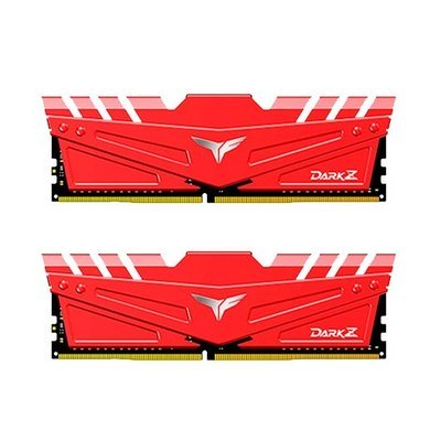Memoria TeamGroup Dark Z Red 16GB (2x8) DDR4 3000MHz CL16 Dual Rank