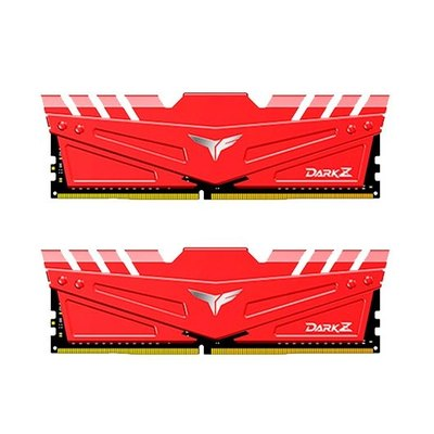 Memoria TeamGroup Dark Z Red 16GB (2x8) DDR4 2666MHz CL15 Dual Rank