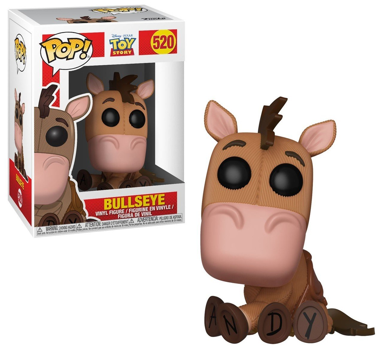 Funko pop disney toy story bullseye