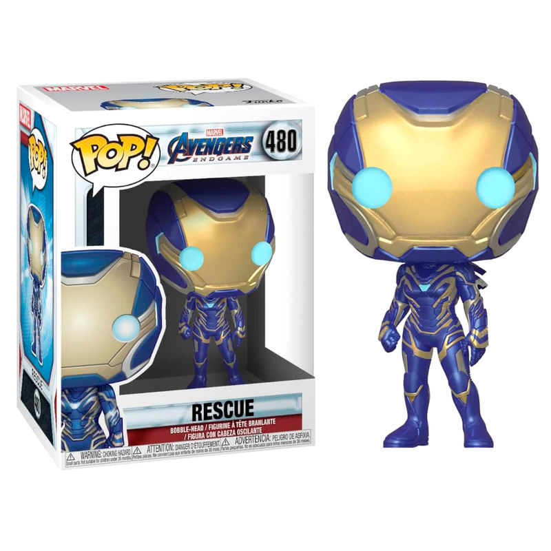Funko pop marvel avengers endgame rescue