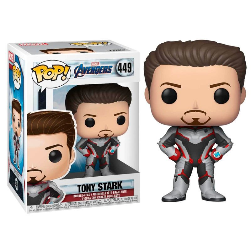 Funko pop marvel avengers endgame tony stark