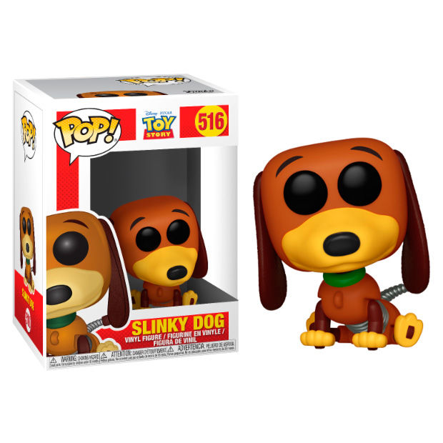 Funko pop disney toy story slinky dog