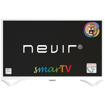 Nevir 8050 TV 32 LED Smart TV 2xUSB 3xHDMI Blanca